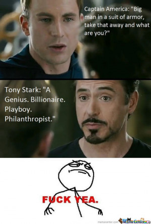 Iron Man Owns Captain America
