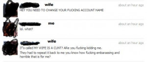 So my ex-wife had to call the bank for our shared account… | Funny ...