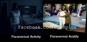 OMG Paranormal Activity - joke