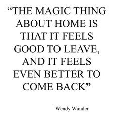 Leaving Home Quotes
