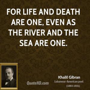 The Prophet Kahlil Gibran Quotes