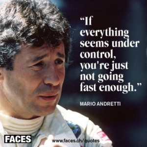 Mario Andretti Quote