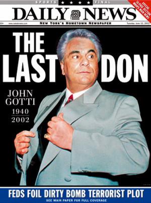 ... mafiozit legjendar John Gotti, padrinoja i fundit i COSA-NOSTRE-s