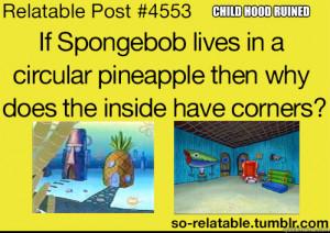 child hood ruined - Sponge bob dafuq moments