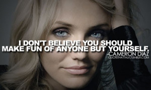 cameron diaz fun quotes