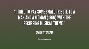 tried to pay some small tribute to A Man and a Woman (1966) with the ...