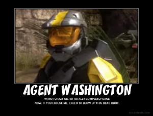 Agent Washington by Crosknight