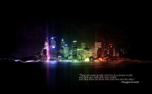 City Life Dream Neon Quote Quotes 1920x1200 hdw.eweb4.com