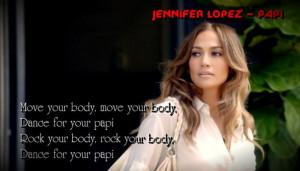 Jennifer Lopez – Papi ♫♪