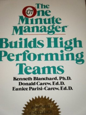 """... One Minute Manager Builds High Performing Teams"""" as Want to Read"""