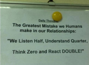The Greatest Mistake We Humans Make In Our Relationships