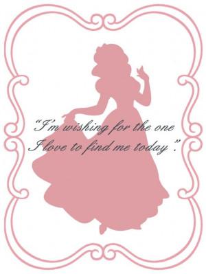 Collage Disney Quotes Snow White