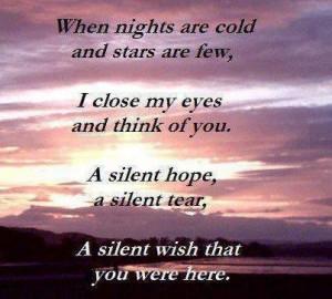 Wishing I never had to say goodbye :)
