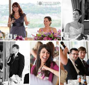 Funny Wedding Reception Moment