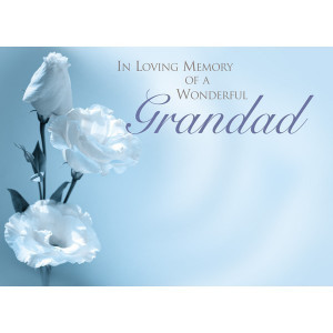 Memorial Male Relative - Large Card (6)