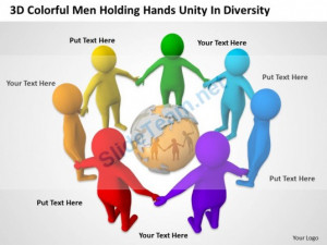 ... holding_hands_unity_in_diversity_ppt_graphics_icons_powerpoint_Slide01
