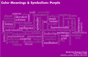 Purple combines the stability of blue and the energy of red. Purple is ...