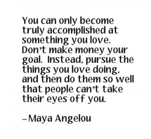 Maya Angelou was a sculpture of words.