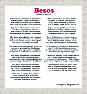 Poems in spanish about love