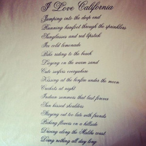 california girl quotes