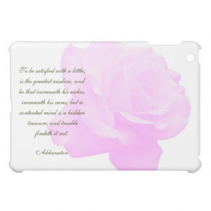 Akhenaton Quotes Ipad Hard Shell Case iPad Mini Covers