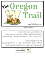 oregon trail file folder game...wow! brings back mad memories of being ...