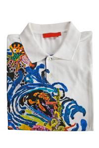 Abstract Painted Shirt
