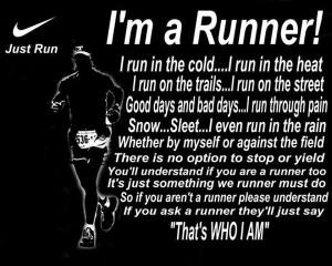 Runner Things #1462: I'm a Runner!