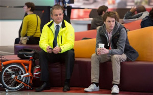 Hugh Bonneville and Hugh Skinner in 'W1A' Photo: BBC
