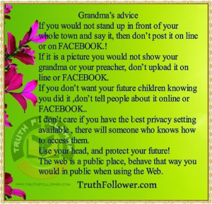 Grandma's Advice and Grandmother Quotes