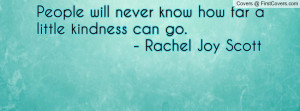 Rachel Joy Scott Quotes