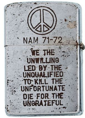 Powerful Vietnam Quote On The Unwilling, Unqualified, Unfortunate ...