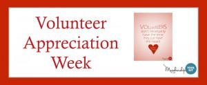 Volunteer Appreciation - A Time To Say