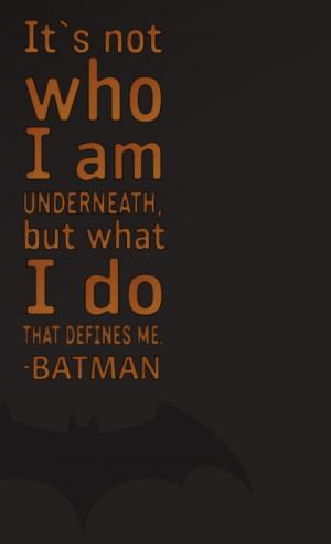 batman quotes typography batman the dark knight batman the dark knight ...