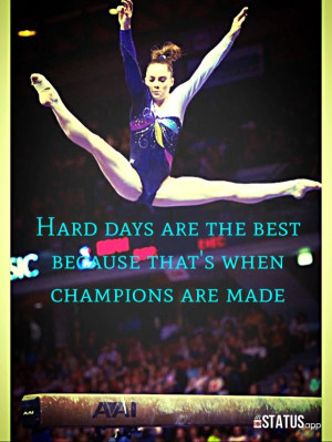 hours of gymnastics.. Tough gymnastics I love this girl so much Great ...