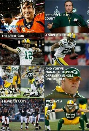 Vikings Vs Packers Avengers Memes