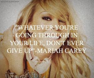 Mariah Carey Quotes Tumblr Mariah carey quotes.