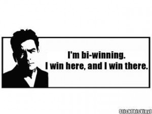 Charlie Sheen Winning Quote