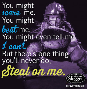 Softball Quotes For Catchers All County Softball Team
