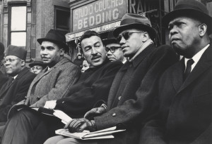 redvelvetjones:soul man: Adam Clayton Powell Jr, with Malcolm X and ...