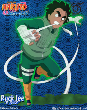 ... about rock lee in naruto and naruto shippuden series in high