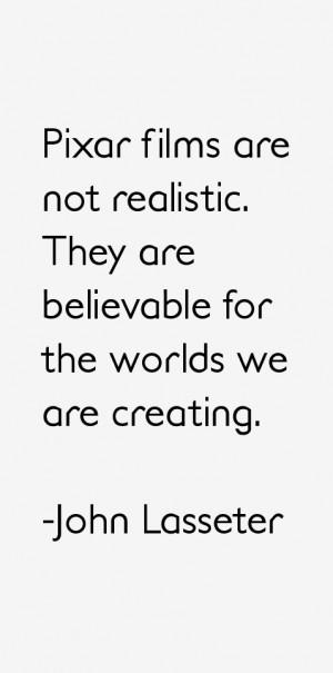 John Lasseter Quotes & Sayings
