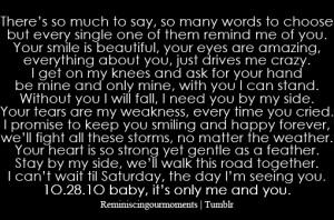 Quotes To Your Boyfriend Tumblr ~ Cute Love Quotes For Your Boyfriend ...