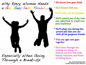 Why Every Woman Needs a Gay Guy Best Friend...