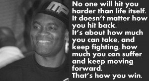 Anderson Silva on life and fighting