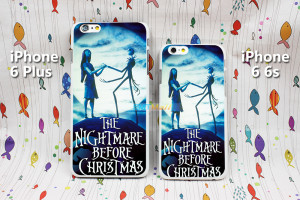 The Nightmare Jack And Sally Love Quotes Design Case Cover for iPhone ...