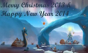 Merry Xmas 2014 and New Year 2015 Messages for Blessings