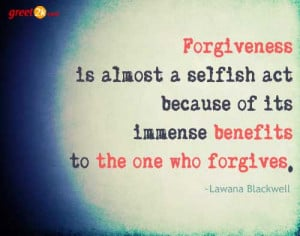 Forgiveness Quotations