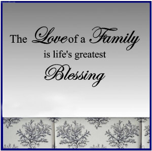 The Love Of A Family In Life's Greatest Blessing