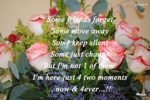 Happy Friendship Day Quote And Flowers Bouquet HD Wallpaper For ...